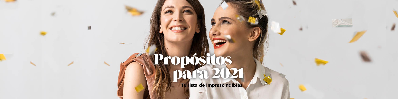 PROPÓSITOS PARA 2021: productos imprescindibles para tu lista