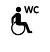 handicapped WC