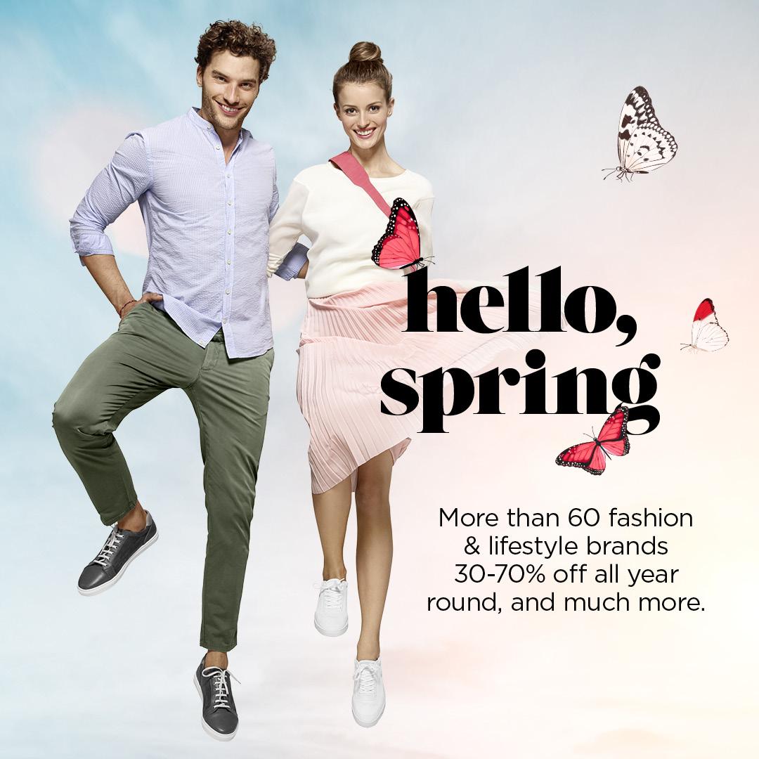 HELLO SPRING | MARCH 26 - JUN 10