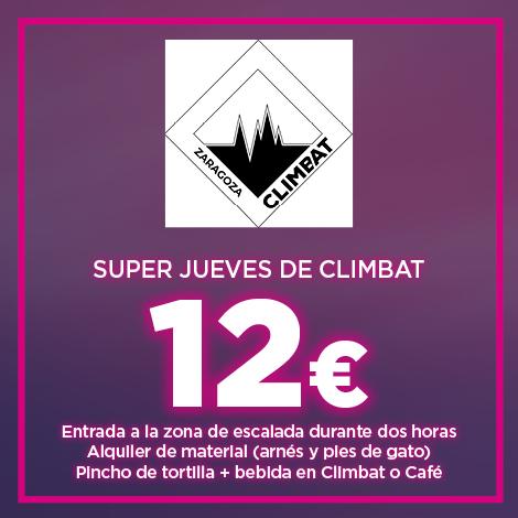 ESCALADA + PINCHO POR 12 EUROS