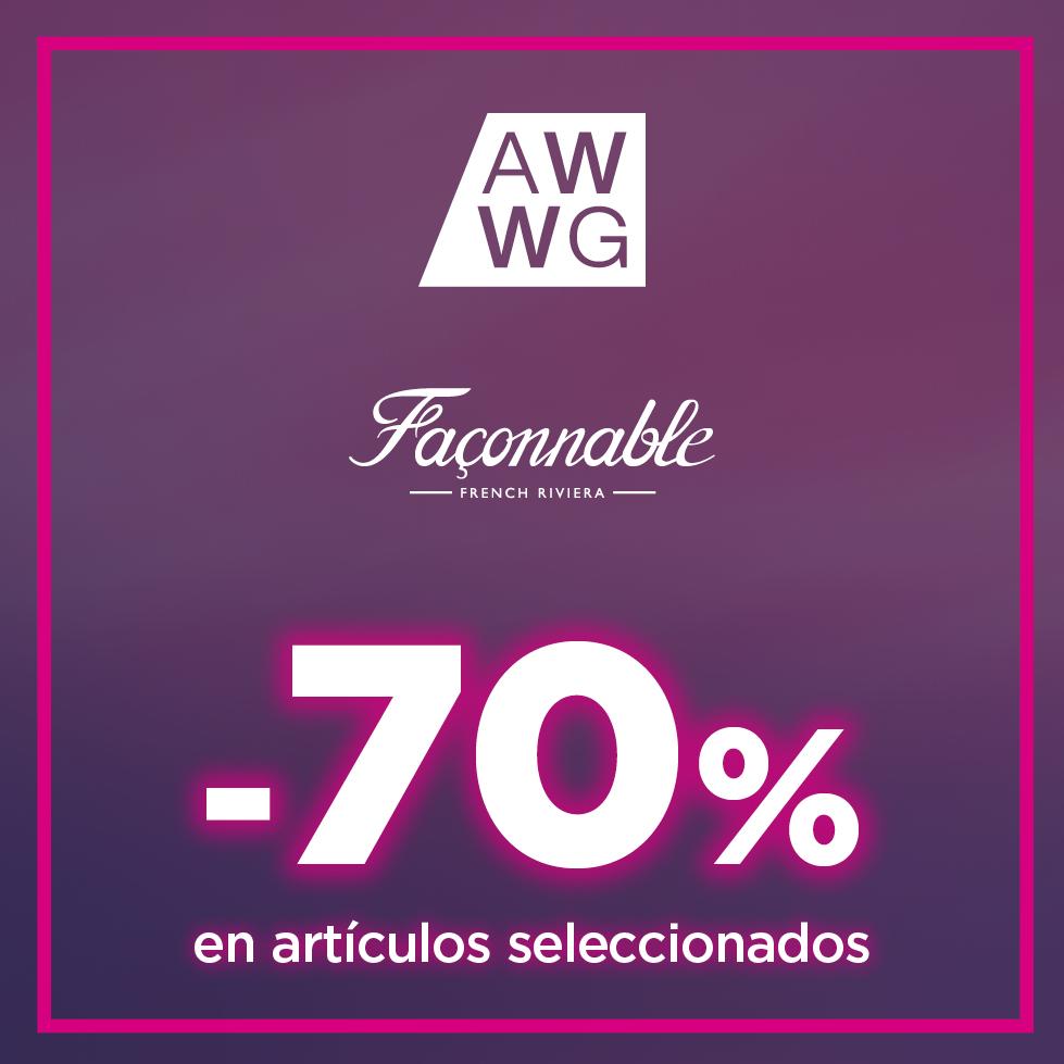 Hasta un 70% en productos seleccionados de Façonnable