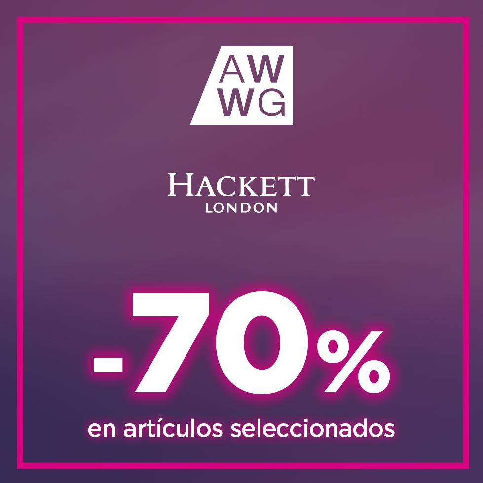 Hasta un 70% en artículos seleccionados de Hackett London