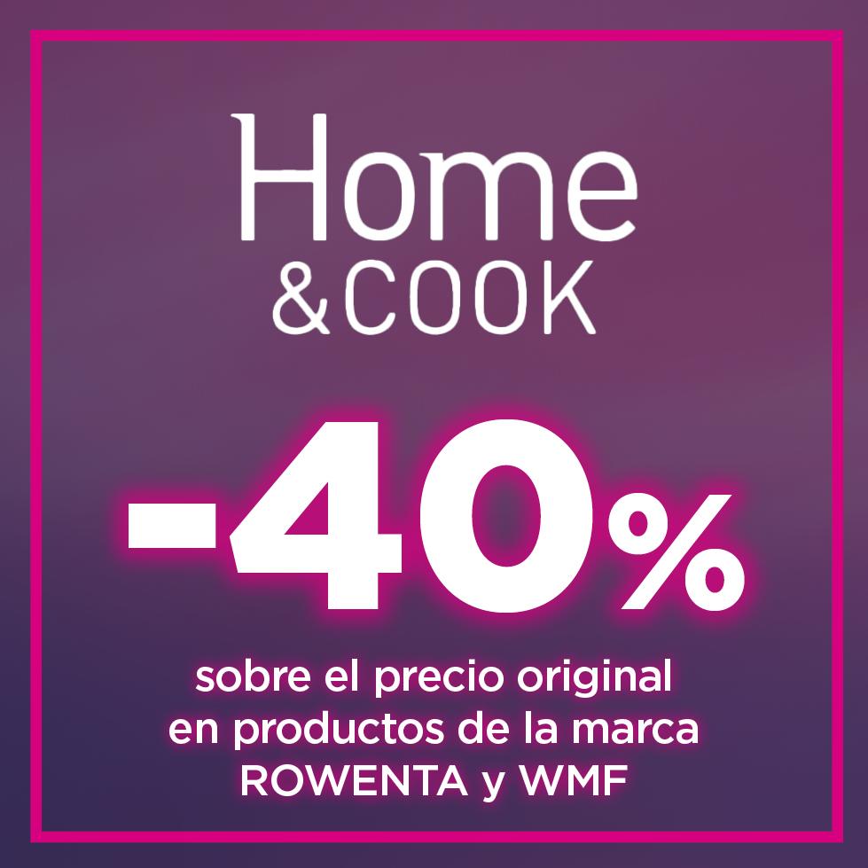 HASTA EL 40% en productos Rowenta y WMF