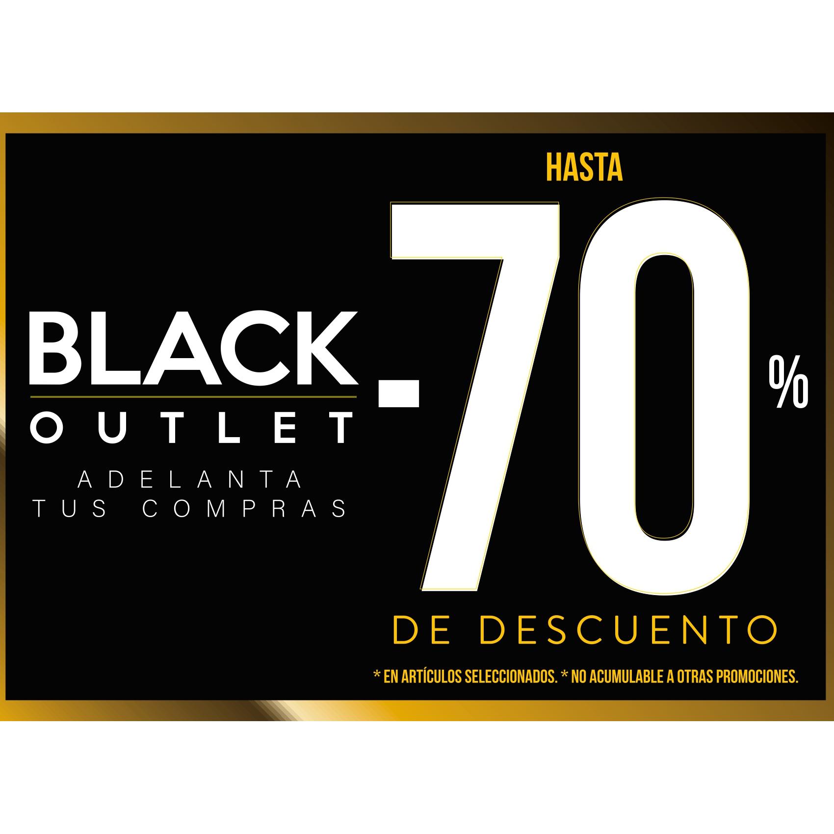 Black Outlet en Fifty