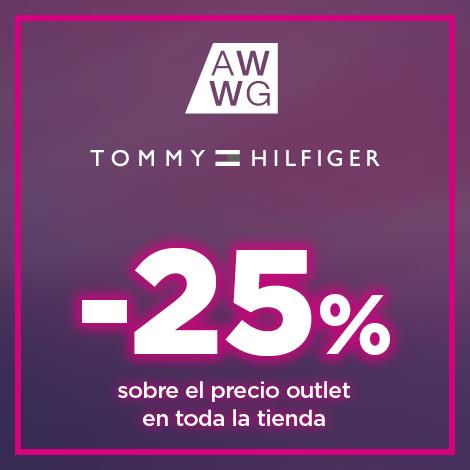 25% sobre el precio outlet