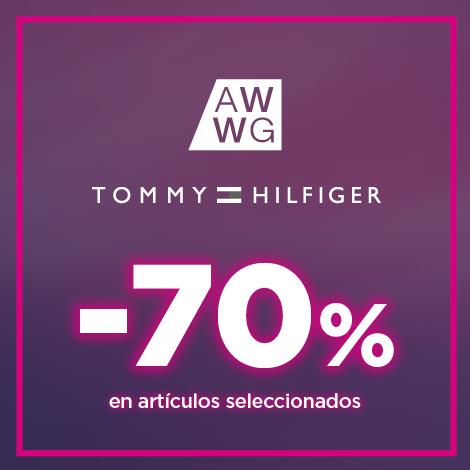 TOMMY HILFIGER: 70% EN ARTÍCULOS SELECCIONADOS