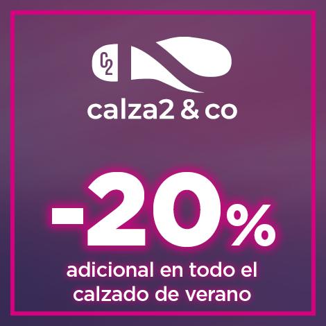 20% adicional en todo el calzado de verano
