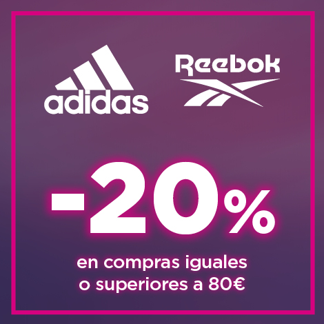 20% adicional por compras iguales o superiores a 80 euros