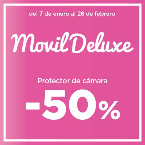 50% EN PROTECTORES DE CÁMARA