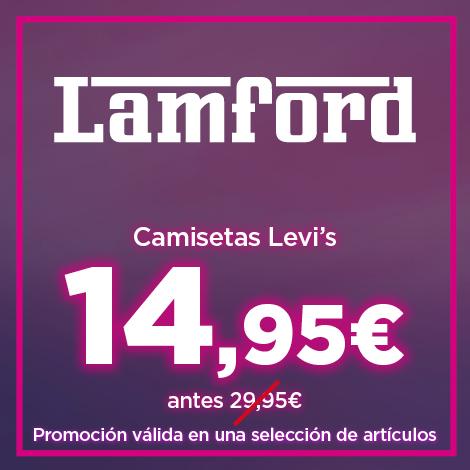 camisetas levi's a 14,95 euros