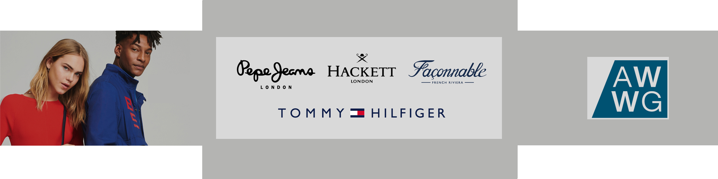 Tommy Hilfiger, Pepe Jeans, Hackett and Façonnable now at La Torre Outlet Zaragoza!