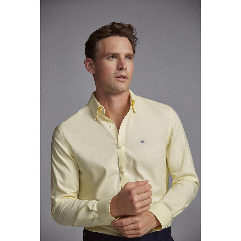 Camisa amarilla Pedro del Hierro