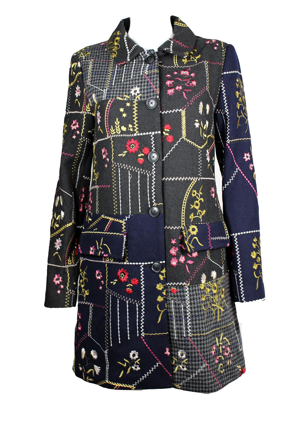 Abrigo de paño con motivos florales 20.11.20 - 28.11.20
