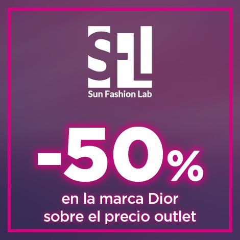 50% sobre precio outlet en la marca Dior