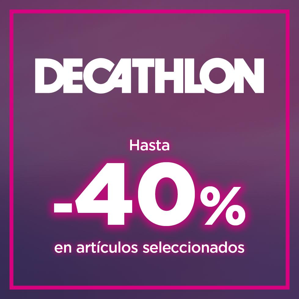 HASTA UN 40% EN PRODUCTOS SELECCIONADOS