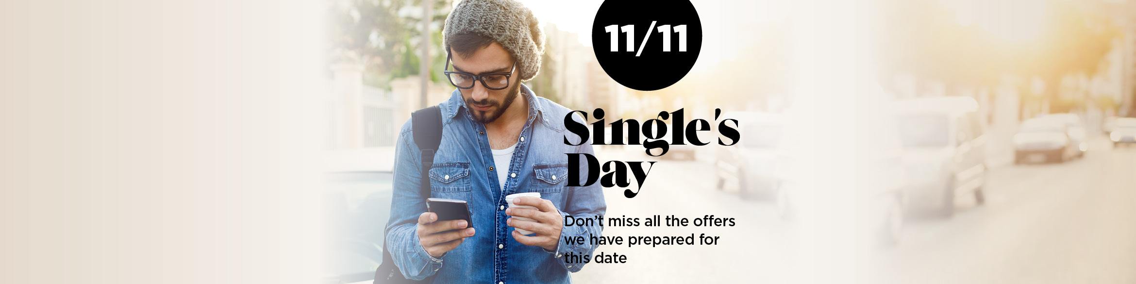 A DAY for THE BEST WHIMS: THE SINGLE'S DAY ON 11/11