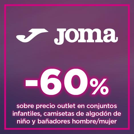 60% sobre el precio outlet en productos seleccionados