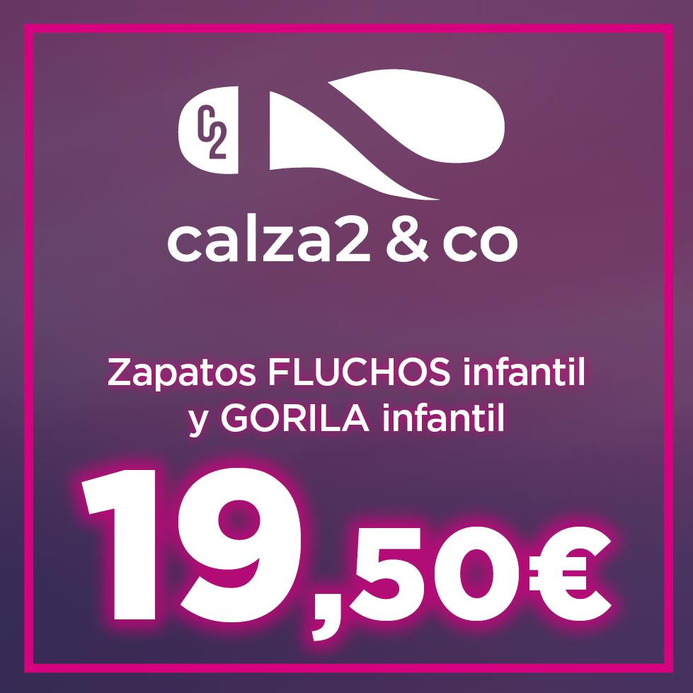 flUCHOS Y GORILA INFANTIL A 19,50 EUROS