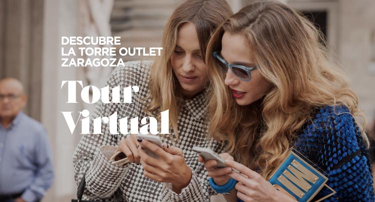 La Torre Outlet Zaragoza desvela sus marcas en un Tour Virtual con premios